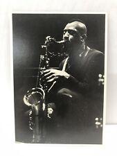 Postcard Sonny Rollins - 1963 - The Jazz Workshop, Boston, Massachusetts.