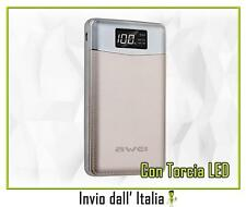 Power Bank 10000mAh COMPATTO per HTC Desire 501 , One M9 Prime Camera 05033