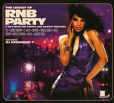 THE LEGACY OF RN'B PARTY (CHRIS BROWN, DONELL JONES,...) 3 CD NEU