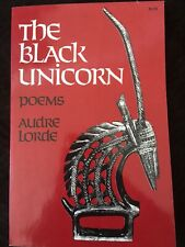 THE BLACK UNICORN  Audre Lorde  5th Printing