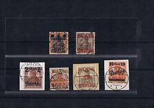 Danzig 41-46 I - gestempelt - Luxus - gepr. Infla und BPP