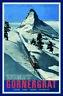 Zermatt Gornergrat Schweiz Blechschild Schild gewölbt Metal Tin Sign 20 x 30 cm