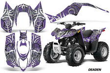 ATV Decal Graphic Kit Wrap For Arctic Cat DVX50 DVX90 Quad 2008-2017 DEADEN PURP