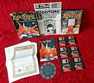 LITIL DIVIL BIG BOX GAME IBM PC 3.5 Disc HD VGA GREMLIN Fantasy