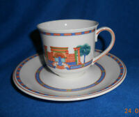 Villeroy & Boch Via Appia: Kaffeetasse / Teetasse / Tasse mit Unterteller
