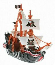 PIRATE SHIP PLAY SET Pretend Play Canon Treasure Gift Toy Vehicle With Figures