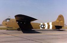 """Model Airplane Plans (FF-RC): Waco CG-4A WW-II 48"""" Wingspan Troop/Cargo Glider"""