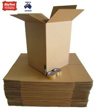 Moving Pack - 40 Large Cardboard Boxes + Tape + Texta
