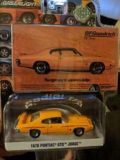 Greenlight 1/64 Bfgoodrich Vintage Ad Cars - 1970 Pontiac Gto Judge #30138