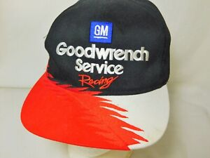 Dale Earnhardt GM Goodwrench Service Racing Snapback Hat Cap Nascar Flames