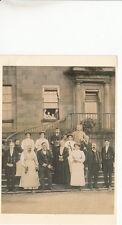 Staff at Erddig House, each holding 'Badge of Office' nr Wrexham, Denbighshire