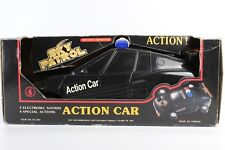 VINTAGE SKY PATROL POLICE ACTION CAR LIGHTS SOON CHENG TOYS TAIWAN 14''