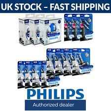 Philips WhiteVision Car Headlight Bulbs H1 H3 H4 H7 H8 HB3 HB4 H11 White Vision