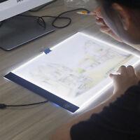 A3/A4 LED Tracing Light Box Drawing Tattoo Board Pad Table Stencil Artist 5W/5V