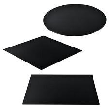 [neu.haus] Glasplatte Glasscheibe Tischplatte Kaminplatte Ofenglas Bodenplatte