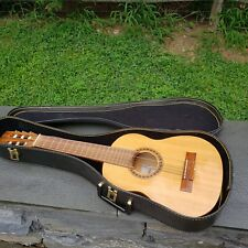 Vintage Giannini MPB Acoustic Guitar Made in Brazil w/ Case