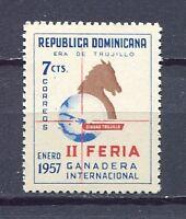 27907) DOMINICANA REP. 1957 MNH** Nuovi** Expò Ciudad