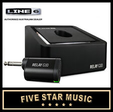 LINE 6 RELAY G10 DIGITAL WIRELESS PLUG & PLAY RECHARGABLE GUITAR SYSTEM NEW G-10