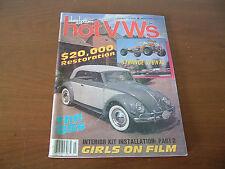 Dune Buggies and Hot VWs Magazine March 1985 Strange Stunts Girls on Film