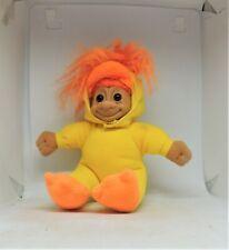 Russ Duck with yEllow Suit Orange Feet & beak Soft Body Troll Doll Susie Stored