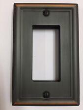 Switch Plate Chelsea Aged Bronze R (Rocker) Wall Plate Wallplate Switchplate