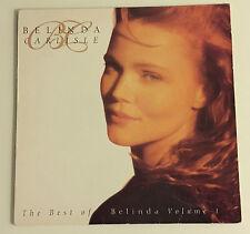 """BELINDA CARLISLE """"THE BEST OF BELINDA VOL.1"""" LP 1992 VIRGIN BELTV 1**1ST PR**VG+"""