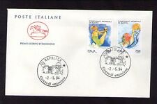 FDC  ITALIA CAVALLINO A.NAPOLI C.P.CAMPIONATI MONDIALI DI NUOTO 2-5-1994