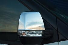 PORTA Cromo Specchietto retrovisore esterno Tagliare Set Cover circonda ABS per RAM Promaster CITY 15+