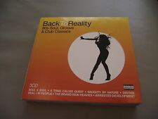 BACK TO REALITY 3 CD DIGIPAK 53 TRACKS DES'REE K7 CHIMES LUNIZ TLC SWV EN VOGUE