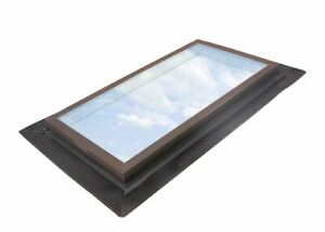 EF 3030 2005 - VELUX/Wasco Self-Flashed, Fixed Deck Mounted Skylight, Tempered