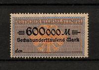 (YYAZ 327) Germany 1920s Revenue Deutscher Wechselstempel Inflation Stempelmarke
