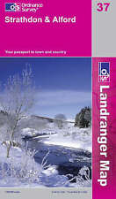 OS Landranger Map 37: Strathdon and Alford (9780319229934) NEW WITH MARKS