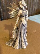 Jessica Galbreth: Winter Fantasia Dragonsite Fairy Sculpture #JG50106 RETIRED