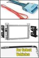 Silver Double Din Car Radio Dash Kit for select Chevrolet Malibu Cobalt Equinox