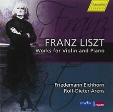 Liszt: Works for Violin & Piano, New Music