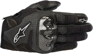 Alpinestars Stella SMX-1 V2 Air Gloves BLACK WHITE GREY