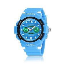 OHSEN AD1612 Color Children Kids Boys Girls Analog Digital Quartz Wrist Watch