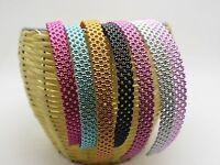 CW/_ BH/_ 100Pcs Mixed Color Kids Mini Elastic Soft Hair Rope Band Ponytail Holder