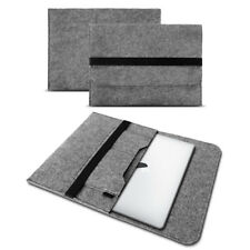 Apple MacBook pro 15 4 Zoll Tasche hülle grau Cover Sleeve Filz Case Notebook