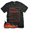 New SUCCESS FACTS T Shirt for Nike Habanero Red Foamposite One
