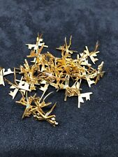 30pc Lot Military Insignia Swords And Lances Gold spanish civil war
