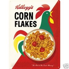 Kellogg's Cornflakes - 3D Metal Wall Sign. Size : 30cm by 40cm