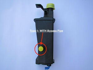 NEW EXPANSION TANK FOR  BMW E53 X5 (6 cyl)  / E46  / E83 X3 (WITH BYPASS PIPE)