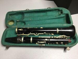 Antique 19th/Early 20th JOSEF RAUSCHER, MUNCHEN Clarinet w/Orig Case/ACCESSORIES