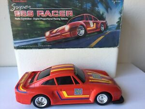 Super 959 Racer Porsche 1/13 Tandy Radio Shack RC Body ONLY with Original Box