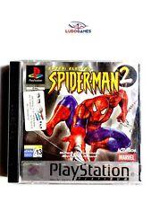 Spiderman 2 PSX PS1 Playstation Videojuego Precintado Nuevo Sealed Platinum SPA