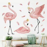 Flamingo Queen Wall Stickers For Living Bedroom Nursery Wall Art Decorations