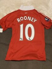 2010-2011 Nike Manchester United Wayne Rooney Jersey Medium New With Tags