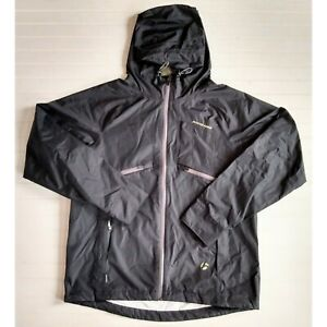 Bontrager Men's L Rhythm Stormshell Waterproof Vented Hooded Cycling Rain Jacket