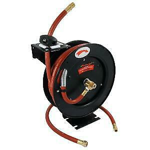 """30ft x 3/8"""" inch Auto-retractable Air Line Wall Mountable Hose (Neilsen CT1056)"""